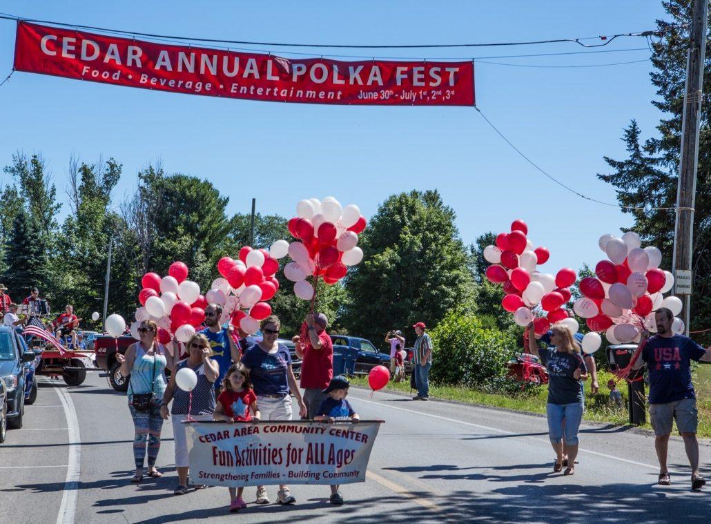 Cedar Polka Fest Parade