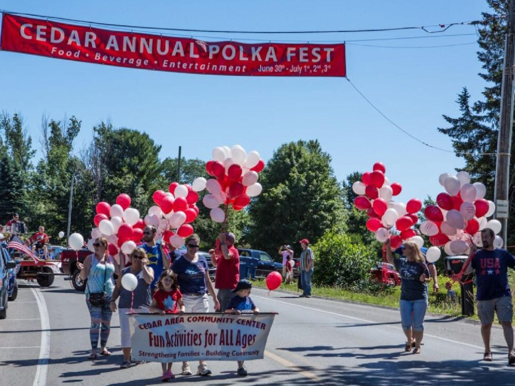 Cedar Polk Fest Parade